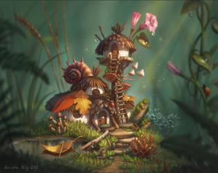 Fairy's house by Neskvik