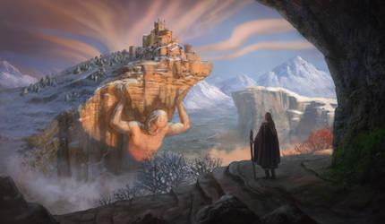 Fantasy sketch by Neskvik