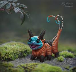 Tiny creature by Neskvik