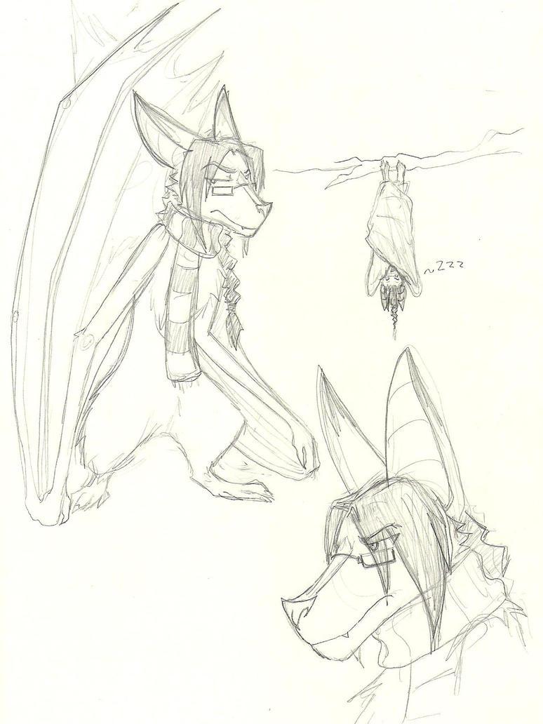 Bat!Dean doodles... by Lost-in-Legends
