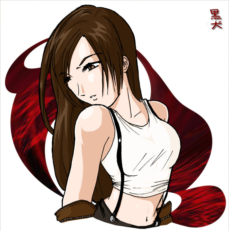 Tifa Lockheart-No Turning Back by kuro-inu