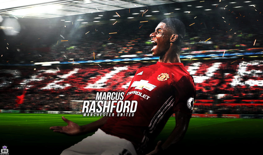 Marcus Rashford Wallpaper By Eriongraphicofficial On Deviantart