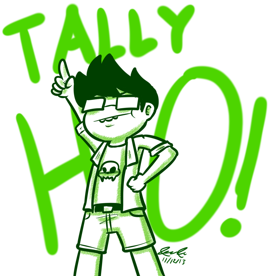 TALLY HOOOOO by Mister-Saturn