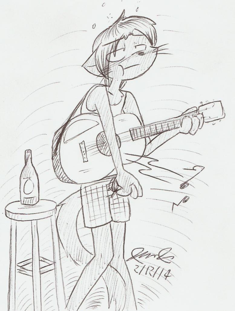 BP15-Drunken Guitar by Mister-Saturn