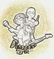 Dinosaur Jr. by Mister-Saturn