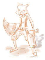 Rocket Raccoon by Mister-Saturn