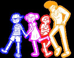 Bein' Friends by Mister-Saturn