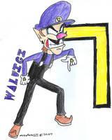 Waluigi by Mister-Saturn