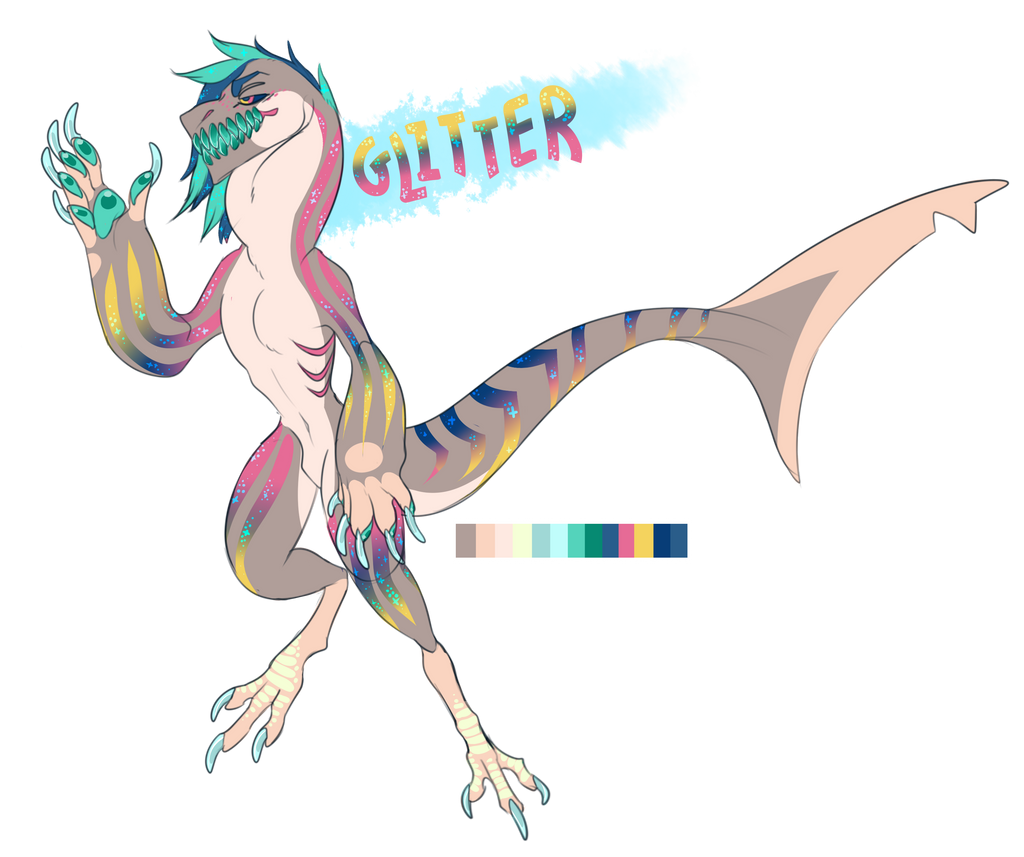 Glitter adoptable auction! by RowdyChickens