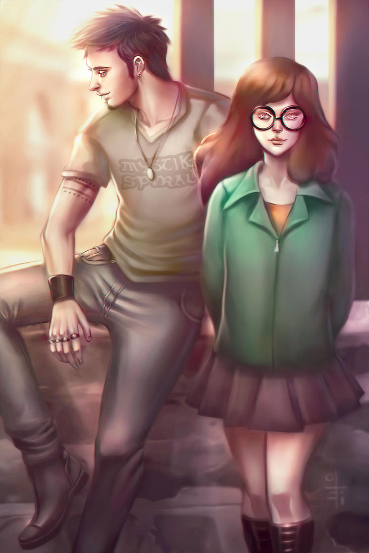 Daria and Trent by olei