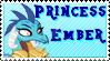 Princess Ember stamp version 2 Request by midnightlunarose