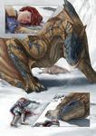 p.3 - The Forsaken Huntress :: Snow red