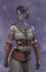 Cirilla Elysae - Witcher AU