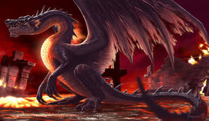 Fade to Black - Fatalis Monster Hunter