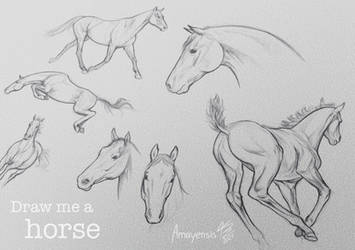 Draw me a Horse - looking for submissions
