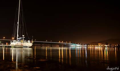 boat night by duga96