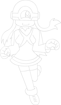 Xbox One-tan (Line Art)