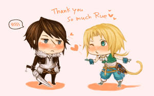 Thank You Rue by f-wd