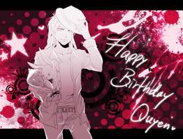 Happy Birthday Quyennn by f-wd
