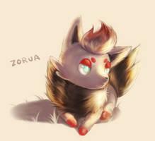 Zorua by f-wd