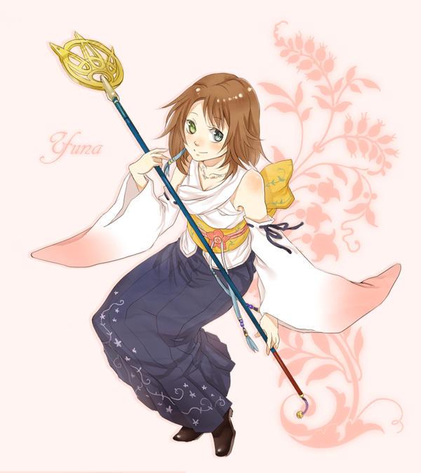 FFX: Yuna by f-wd