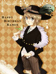 Happy Birthday Ramen by f-wd