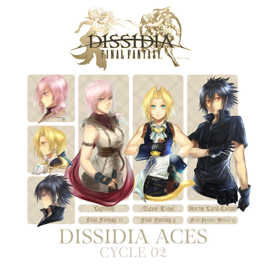 Dissidia Aces Cycle 02: Participating Boss by f-wd
