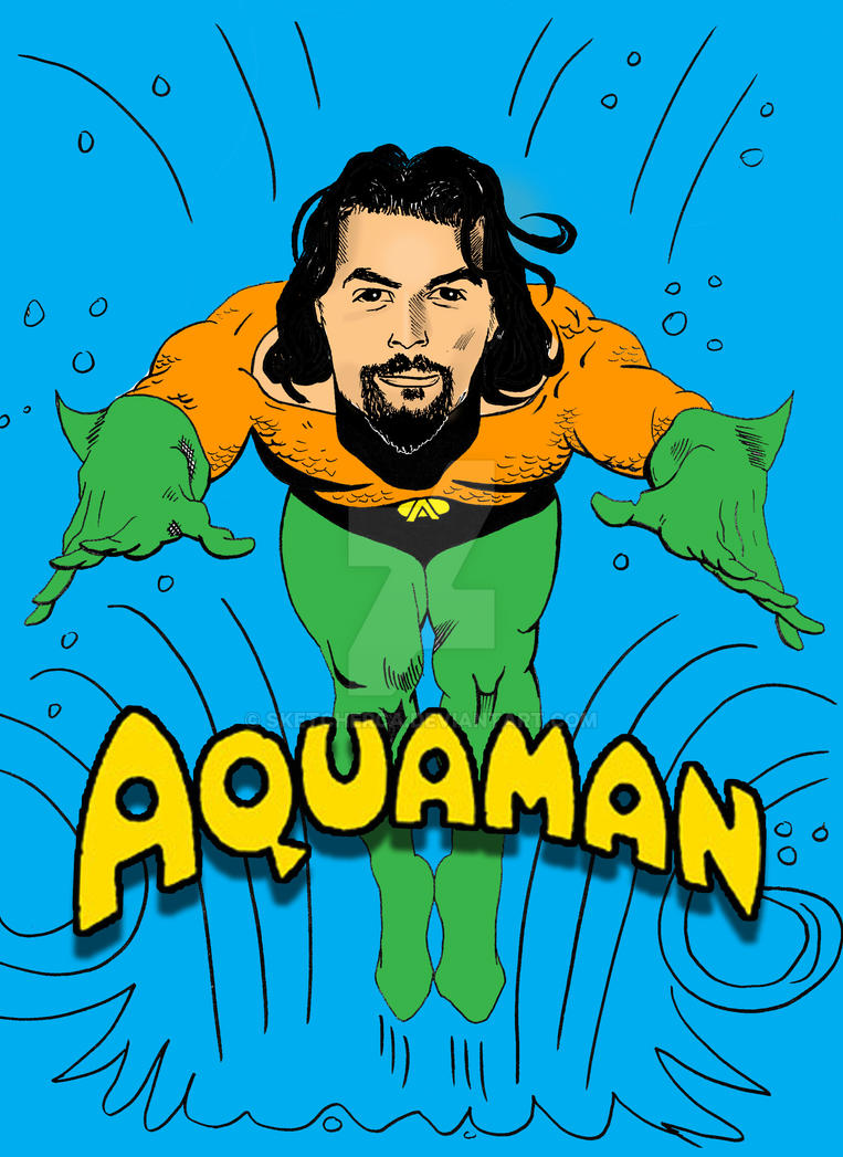 Aquaman by sketcherCa