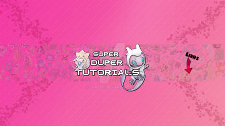 SuperDuperTutorials One Channel YouTube Background