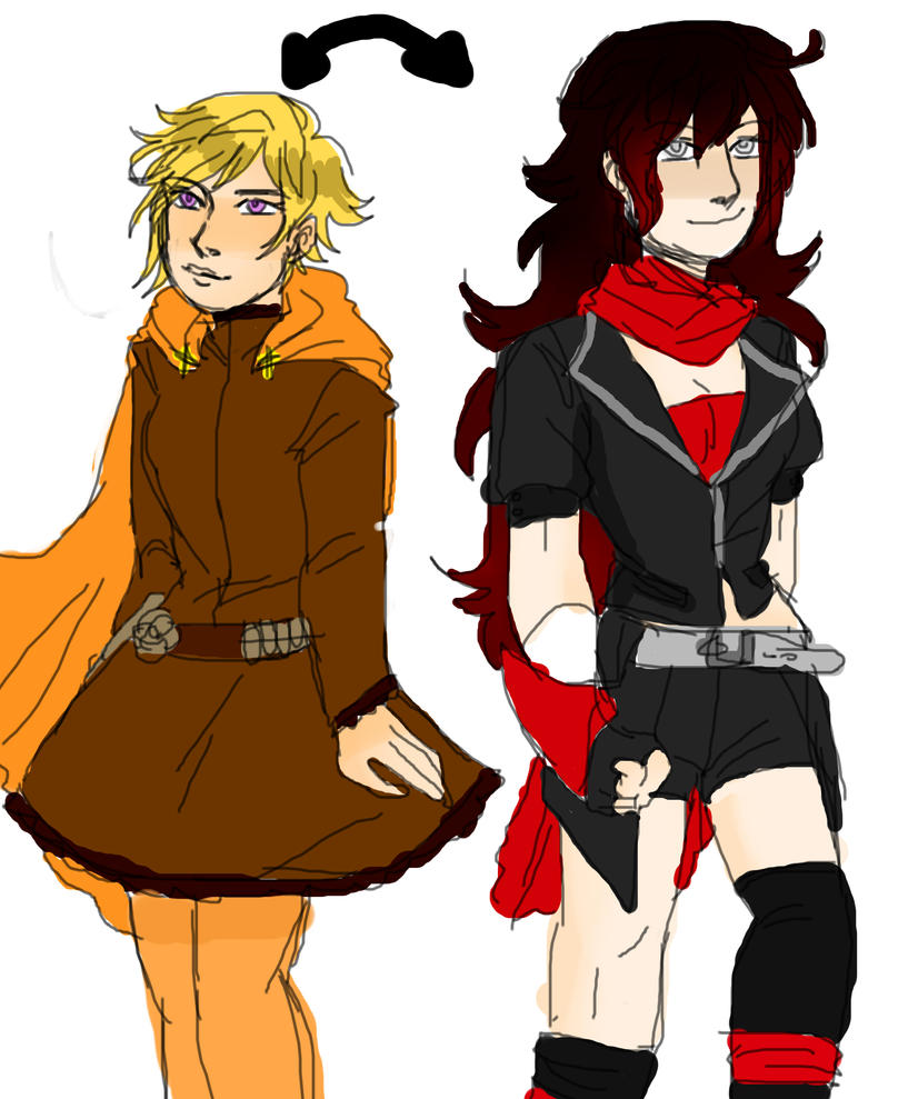 COLORSWAP RUBY AND YANG by poisodon