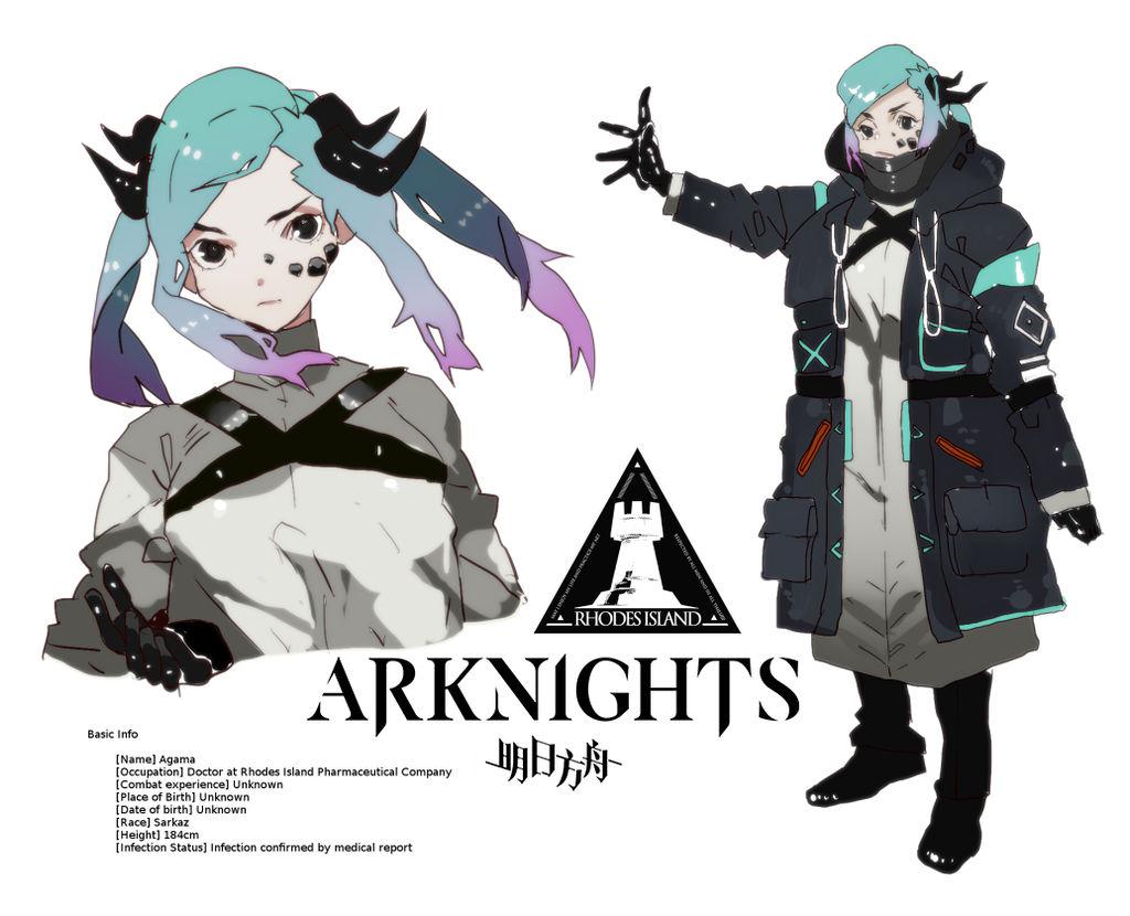 Arknights Doctor OC