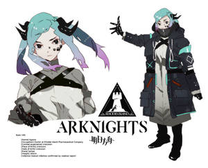 Arknights Doctor OC
