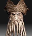 Davy Jones Zbrush 3d