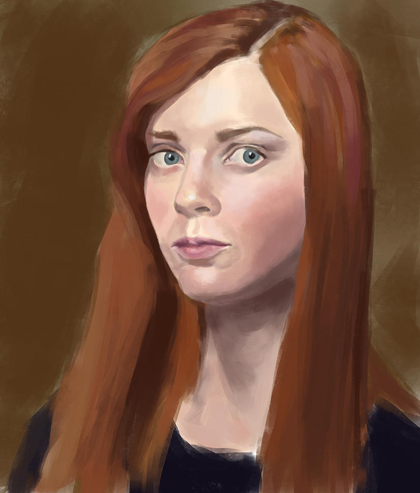 Self portrait february'16 by yaggun