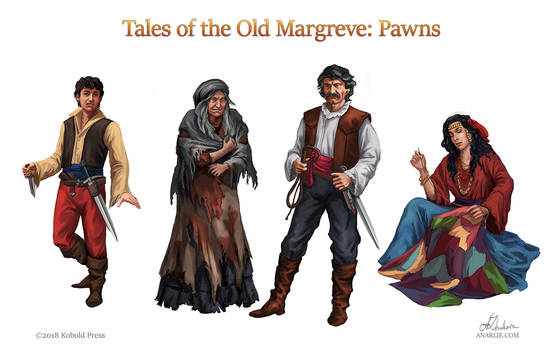 Tales of Old Margreve:Pawns