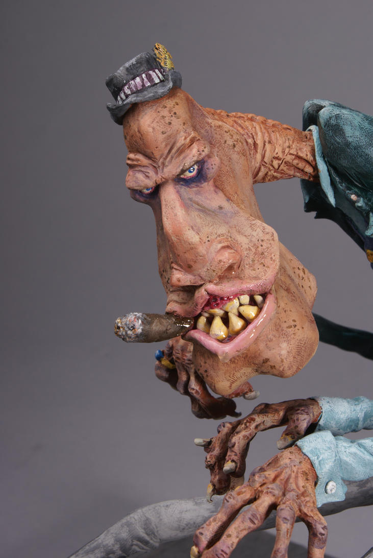 Piano Manster, face detail. by DoctorRat