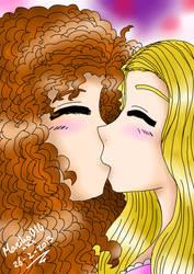 Commission - Merida X Rapunzel