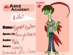 Spencer Barton- Amie Academy Application