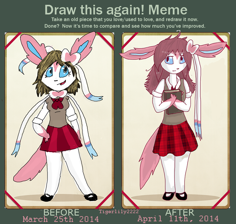 Draw Carly Again Meme by Tigerlily2222