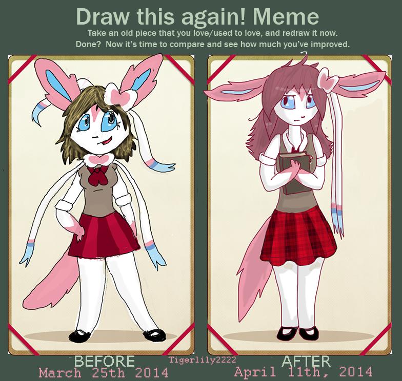 Draw Carly Again Meme by Tigerlily2222