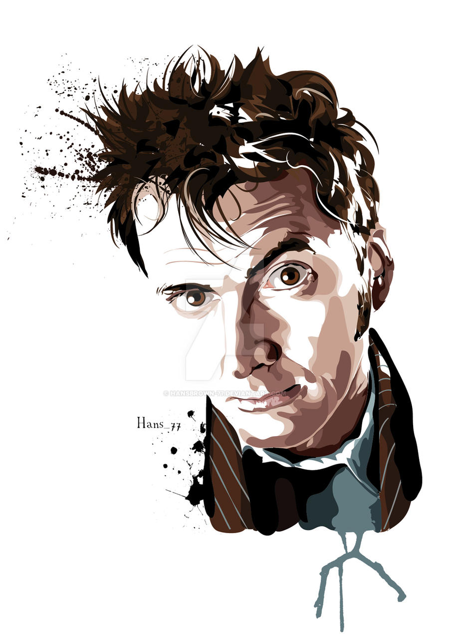 The Tenth Doctor Who by hansbrown-77