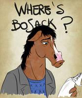 Where's Bojack? by VanyPie