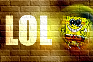 spongebob_on_the_wall by dresdam