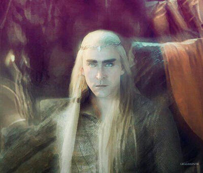 The Elvenking by PrincessThrandy