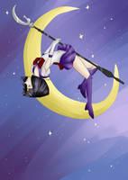 Sailor Saturn ~ FanArt by Artiza-R