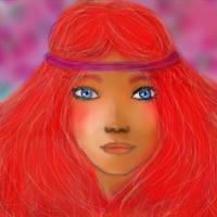 red hair by megaobeseflounder