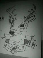Le deer by megaobeseflounder