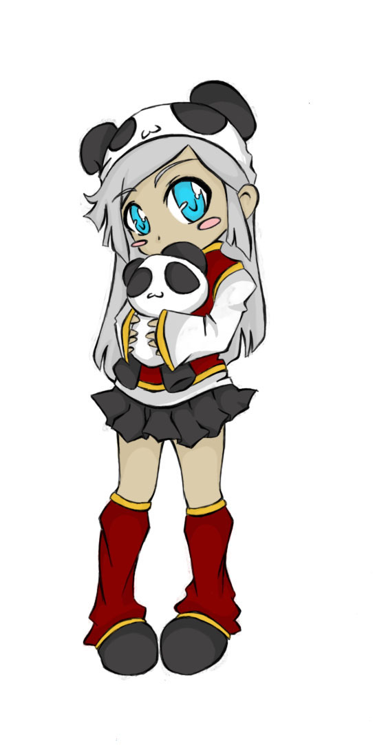 Panda Chibi by sadistic-vampiress on DeviantArt