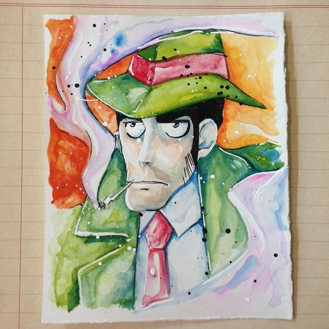 Inspector Zenigata by LinkWorshiper