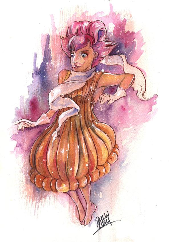 Vulpix Girl by LinkWorshiper